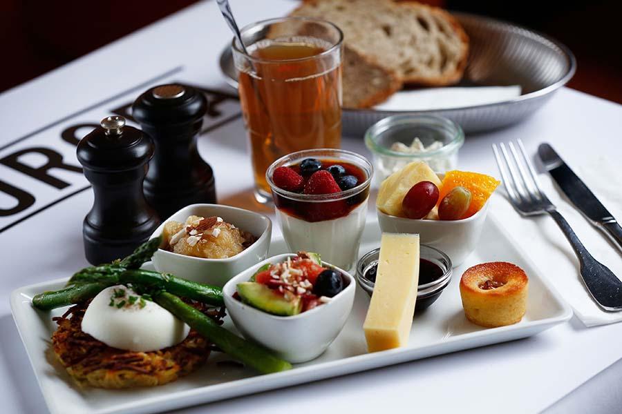 Cafe europa vegetar brunch
